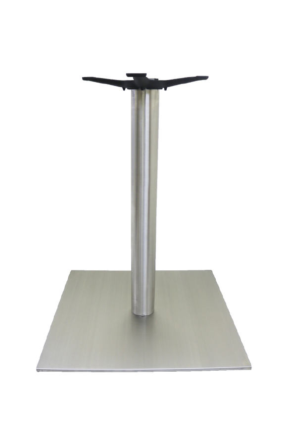Chrome Rnd Column/Sq Base - DINING