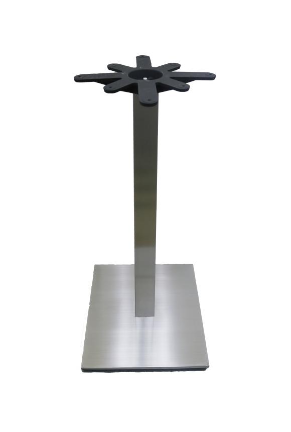 Chrome Sq Column/Sq Base - BAR