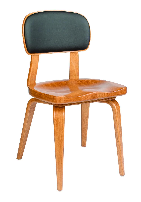 Kristi chair, 232-OAK Black vinyl (front).jpg