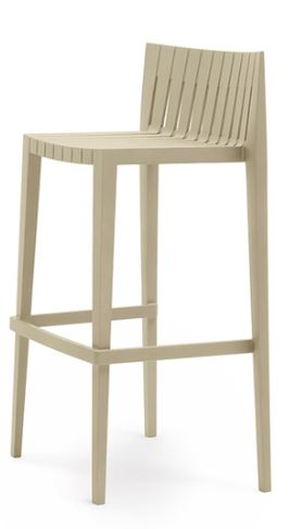 Counter Stool - Beige