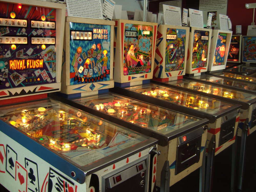 Source: Pinball machines (in different flavors like Crypto tokens) by  Rob DiCaterino