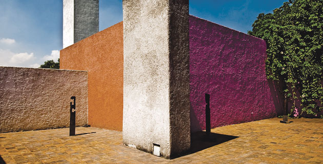 Casa Luis Barragán, in Miguel Hidalgo district, Mexico City.