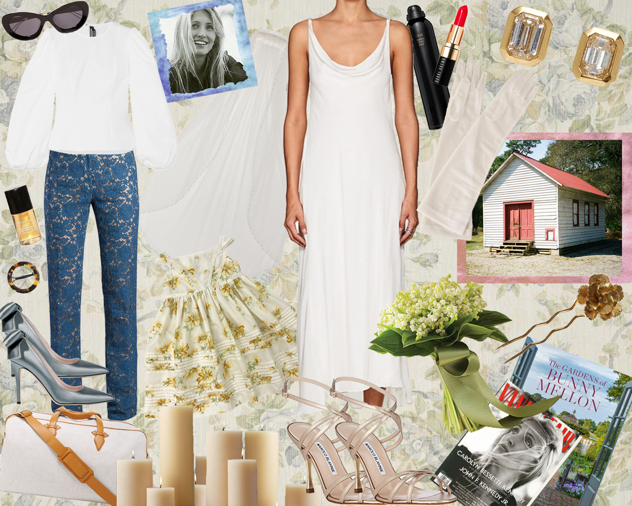 Nuptials Nostalgia Carolyn Bessette Up The Get Up