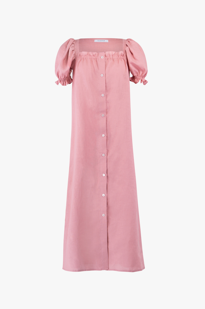 Sleeper-Brigitte-pink-linen-long-dress_260USD.jpg