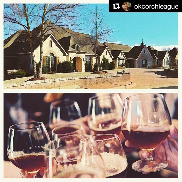 We are so thankful to be working with the @okcorchleague! You do not want to miss their #SymphonyShowHouse and their craft beer chocolate tasting evenings aka #DessertFirst 🍫🍺 • Head over to their page for more info! #craftbeer #chocolatetasting #okc