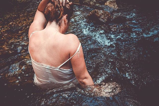 """""""Anger was washed away in the river along with any obligation."""" - Ernest Hemingway"""