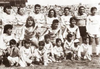 San José debutó en la Libertadores en 1992, bajo el liderazgo de Galarza y Valencia.