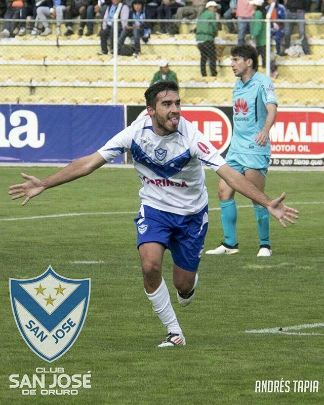 La alegría del gol de Alzugaray