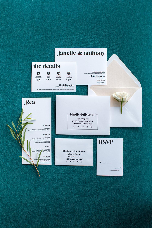 Midwest wedding photographer - Wedding Stationary