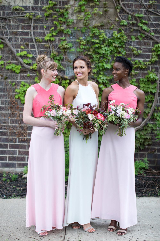 Midwest wedding photographer - bridesmaids 2