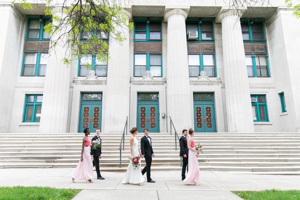 Midwest wedding photographer - bridesmaids and groomsmen