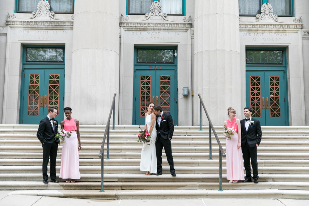 Midwest wedding photographer - bridesmaids and groomsmen 2