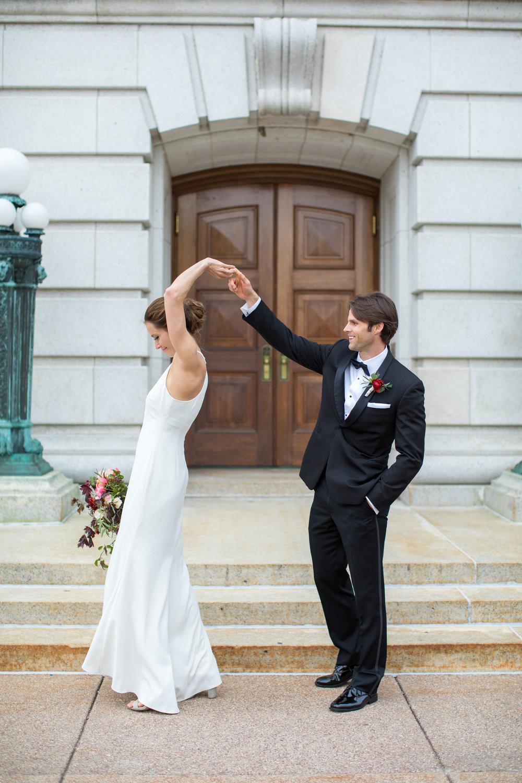 Midwest wedding photographer - wedding dance
