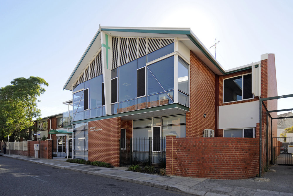 2011 Fremantle heritage festival award | compatible infill development | winnerst patrick's primary school -