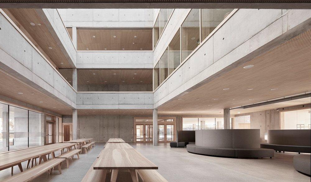 Schendlingen school |Matthias Bär, Bernd Riecher, Querformat