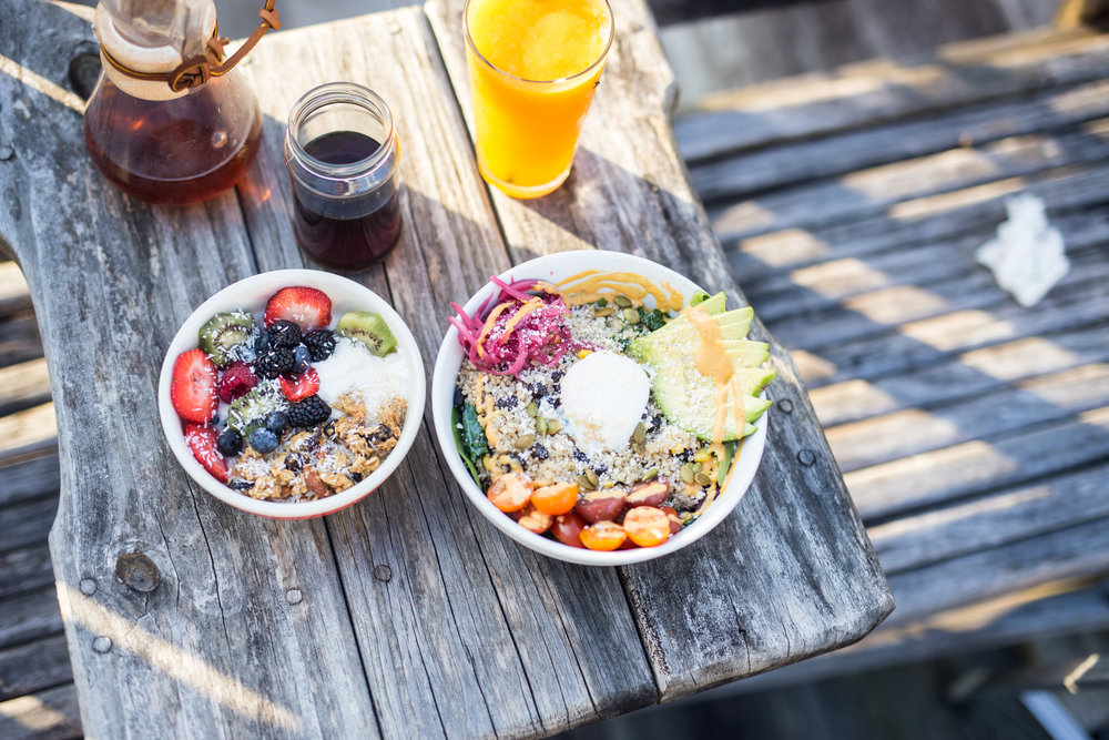 Healthy breakfast and grain bowls from The Daily Beet (located at 1000 Girod St, New Orleans 70113).