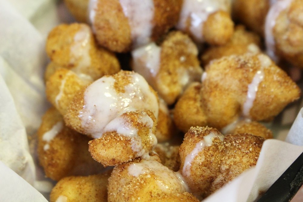 Fried Cinnamon Dough