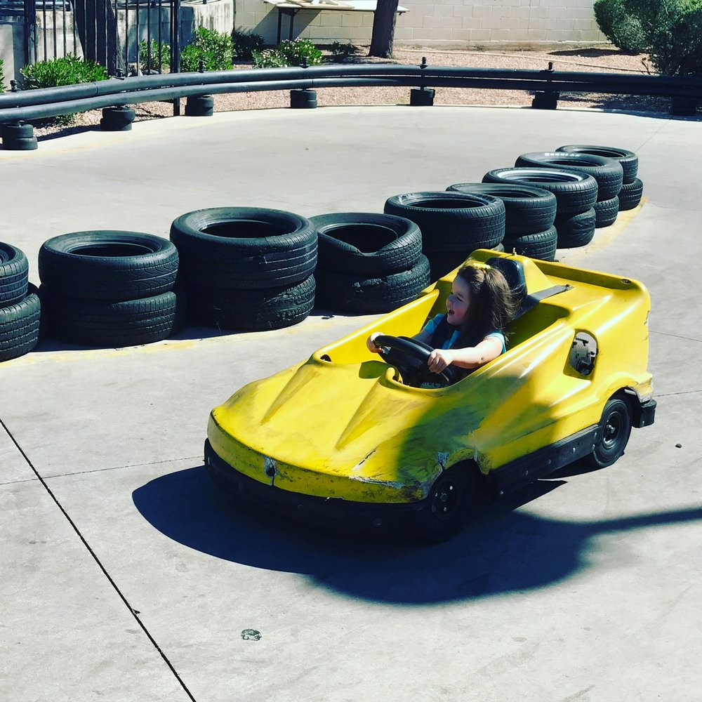 At Cracker Jax Alexa demonstrated her need for speed and for sports cars that match her accessories.