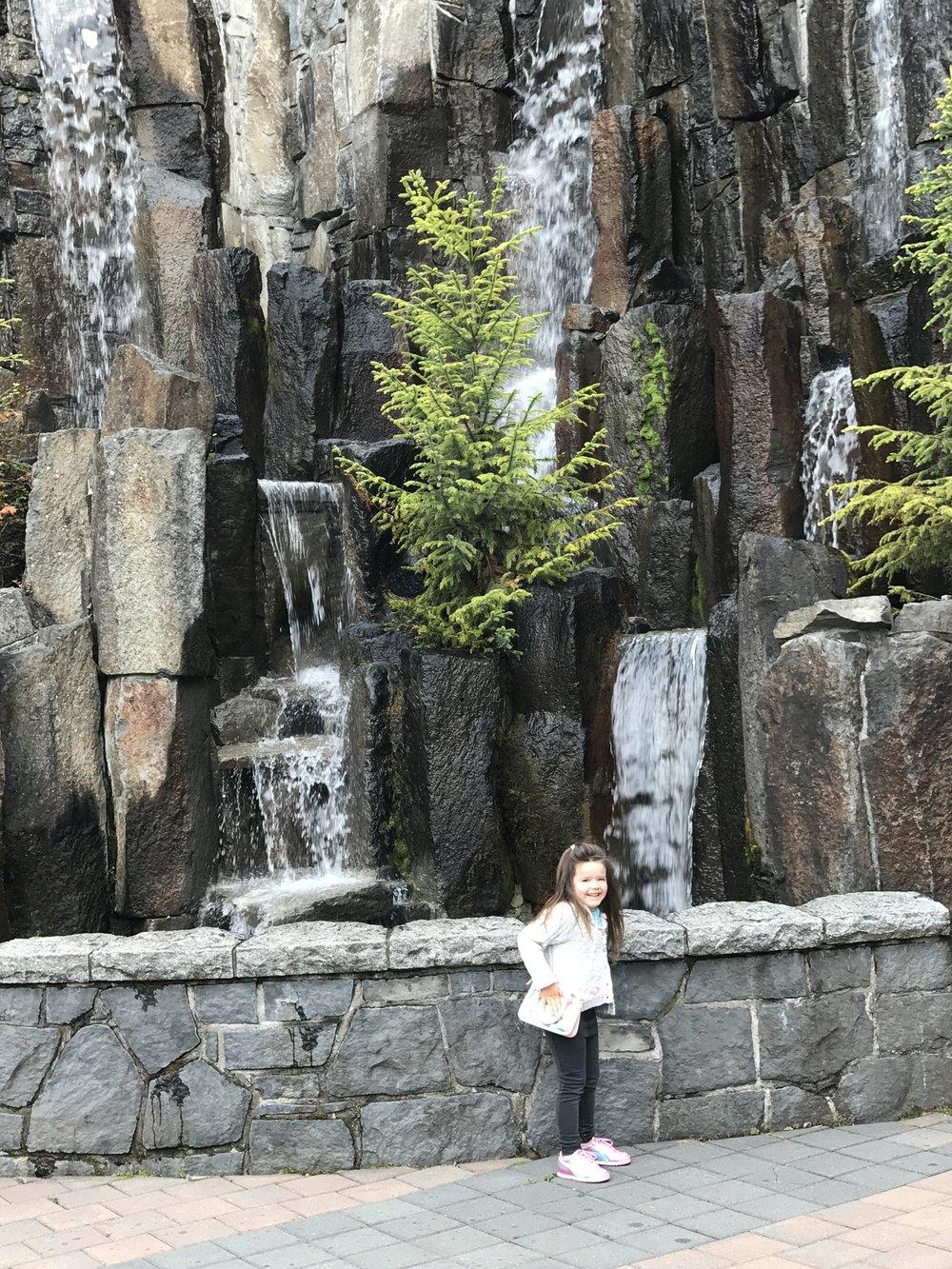 Chasing waterfalls at the Whistler Westin Resort and Spa