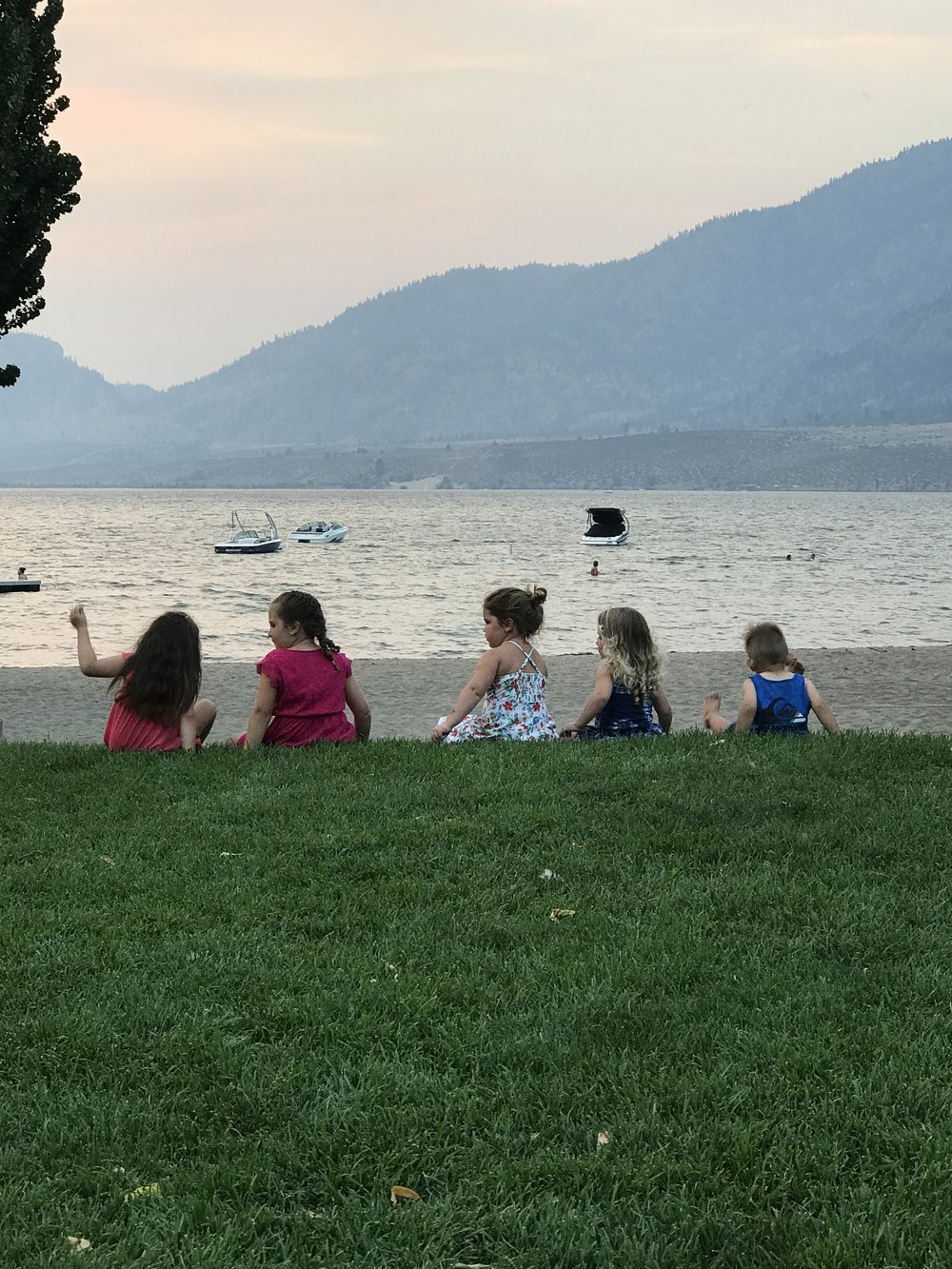 Osoyoos offers the perfect conditions for making fast friends. Life long friends. How do I know? Because once you go, you'll go every year and so will they.