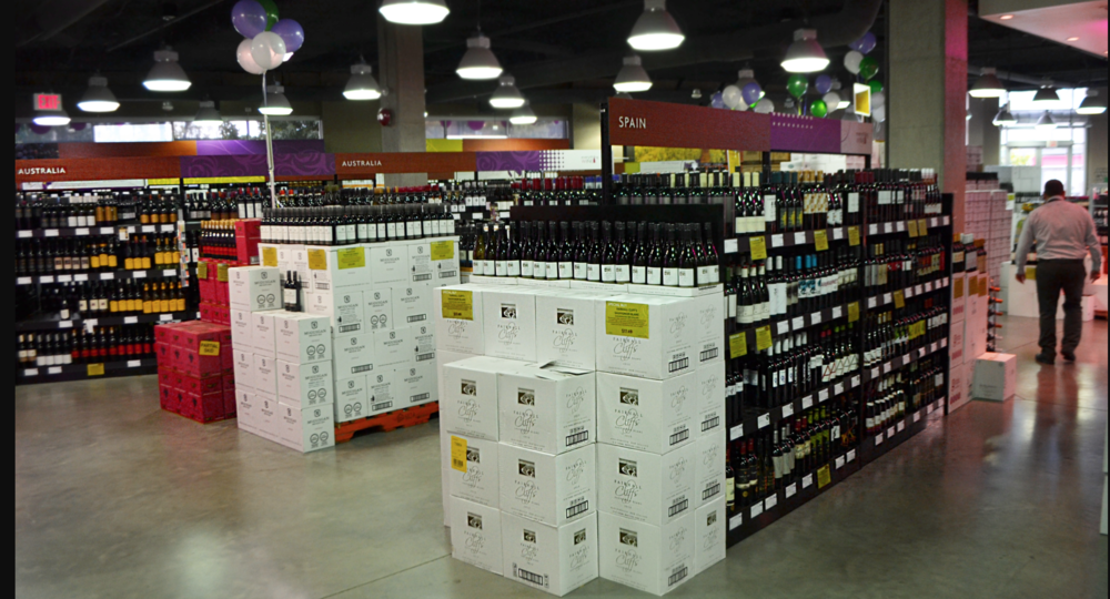 Sometimes more is more, but if you feel intimidated in large wine stores, head to the BC section. There are so many great and approachable wines to try. (Photo: Wine Everything)