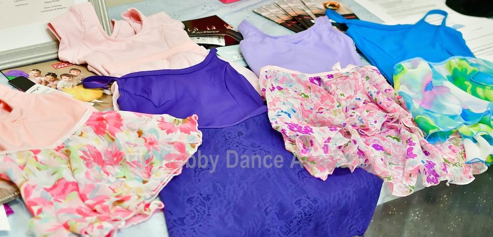 New 2017/18 Junior Division Uniforms! From left - Grade 1 (Light pink + Pink flowers), Grade 4 (Purple), Grade 2 (Lilac + Pink flowers), Grade 3 (Turquoise + blue/green)