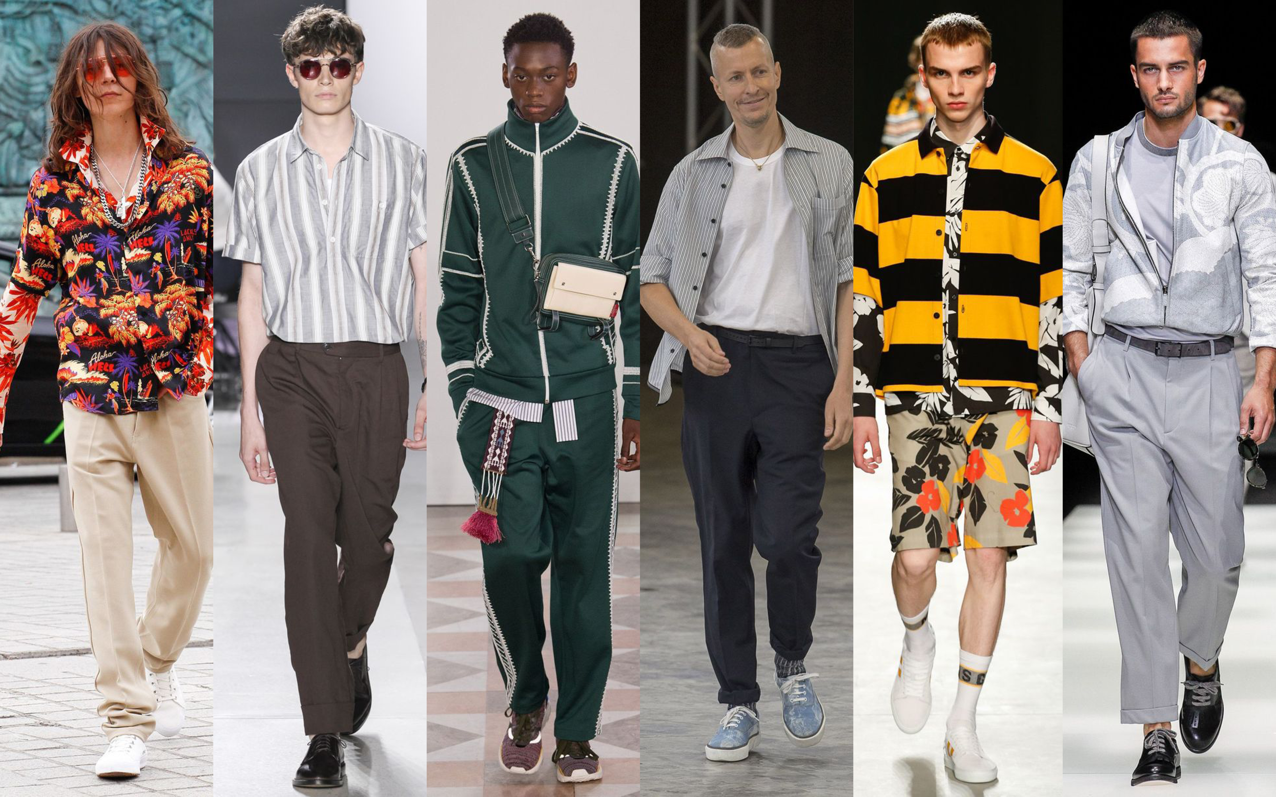 MEN'S SPRING SUMMER 2018 TRENDS: HOW TO ROCK THEM ON CAMPUS