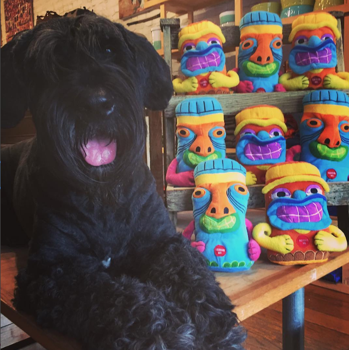 Cute Tiki dog toys at Dogville in San Anselmo, Marin County.png