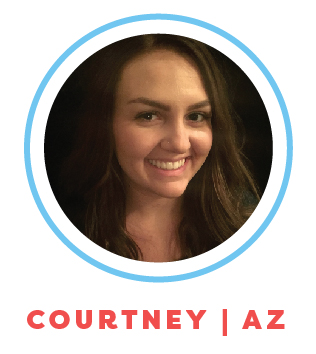 Courtney is a full time college student working on her degree in Early Childhood Education Administration and Management, hoping someday to own her own preschool. She has experience as both a nanny and babysitter.