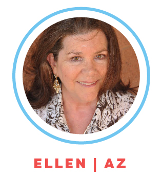 Ellen has a grown son and grew up in Manhattan, NY with her six brothers. Ellen worked as a Marriage & Family Therapist, after retiring she started her career as a professional nanny.
