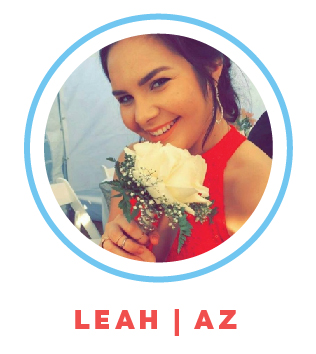 Leah is working as an in home care provider for children with developmental disabilities while attending college at Arizona State University.