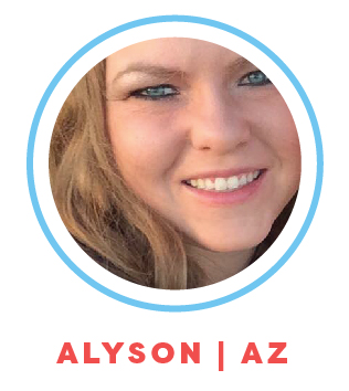 Alyson is an experienced nanny and babysitter and has worked with all ages. Alyson is skilled at imaginary play, creating schedules, organizing activities, maintaining routines and household management.