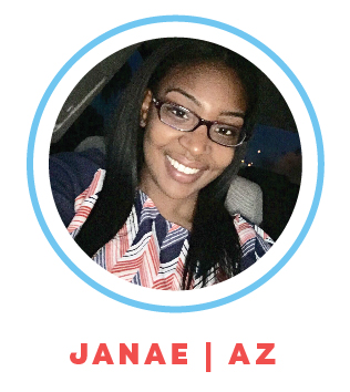Janae is currently a special education teacher for students with ED and also works at a daycare. The best part about working with children for Janae is being able to make a difference in their lives.