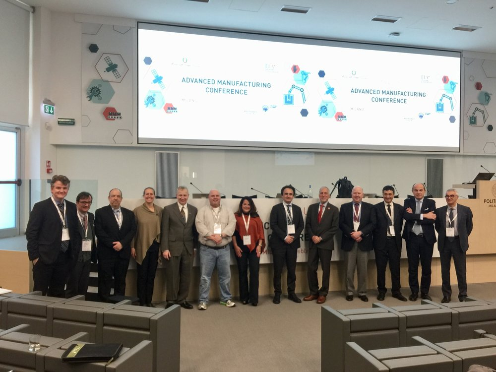 Italy-US Advanced Manufacturing Conference 2018 -