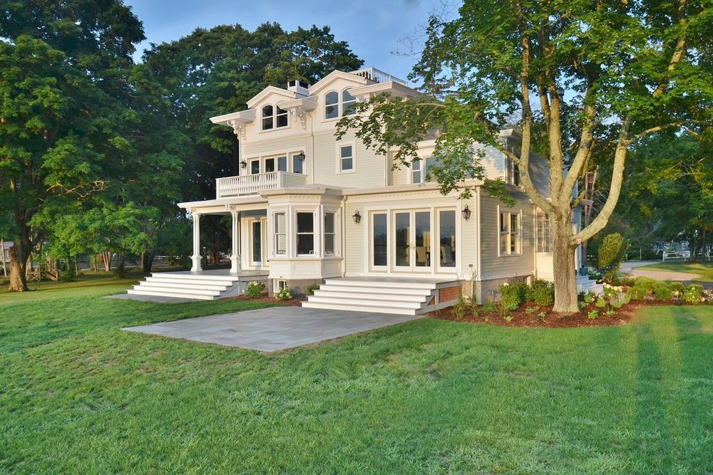 waterfront home, essex, ct