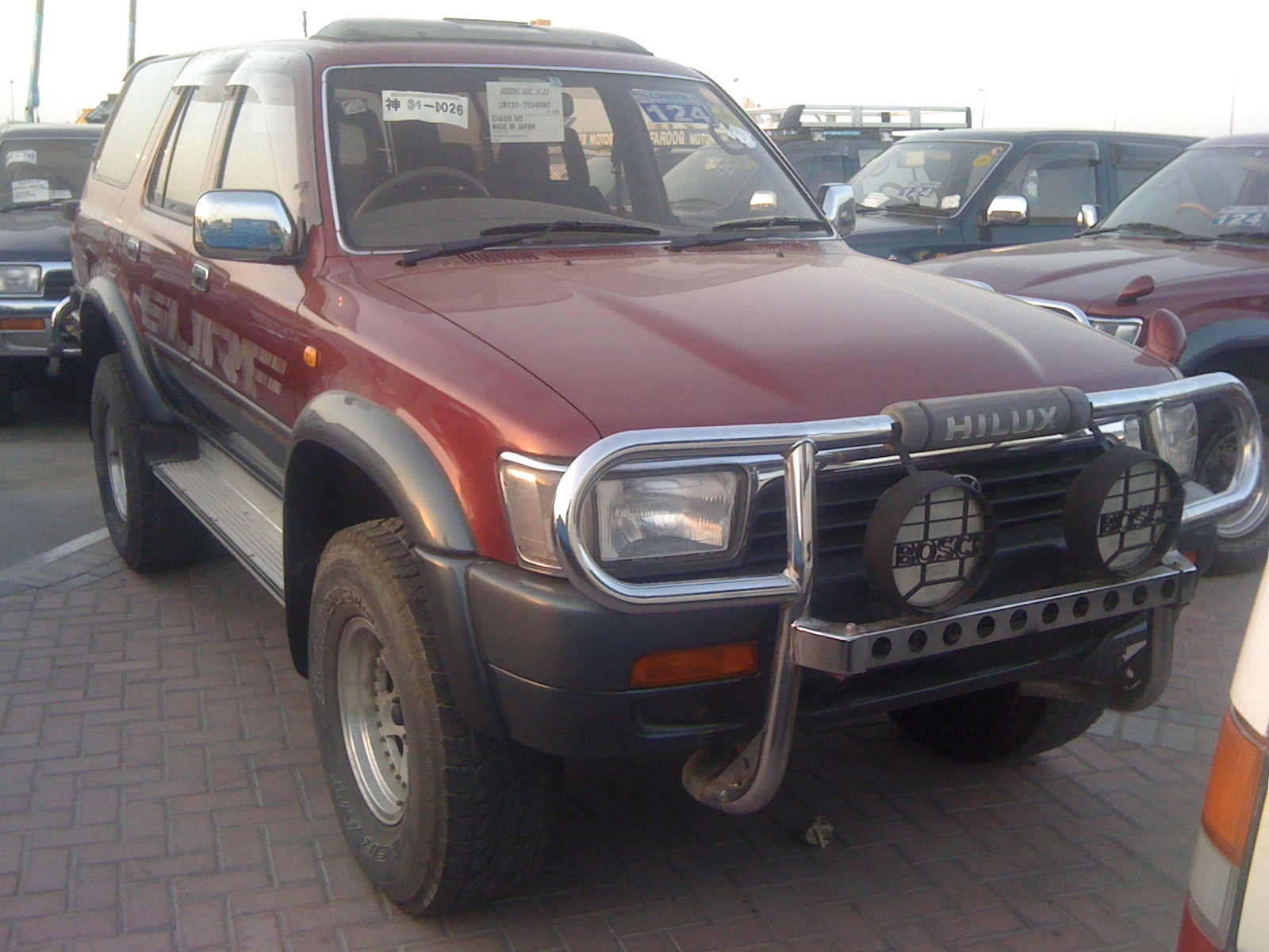 Kota Ganate's Truck