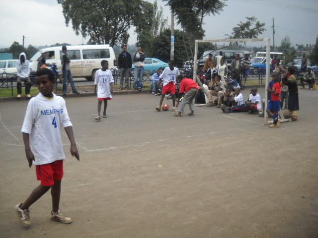 Street Ball - Ethiopian Style
