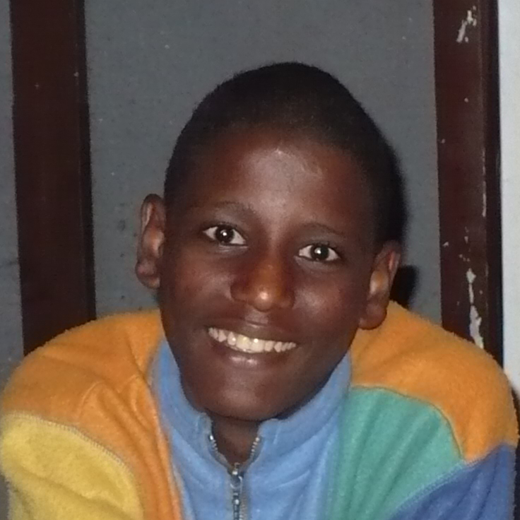 Abi lives at Onesimus' halfway home for boys