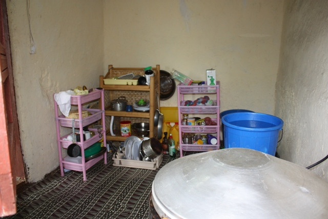 The current kitchen. Soon to become the kids' room.