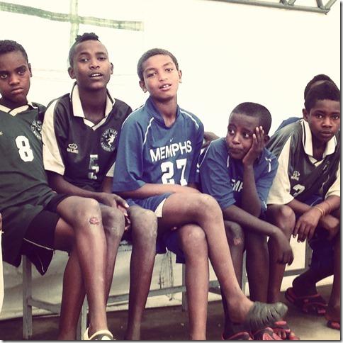 kids at dic