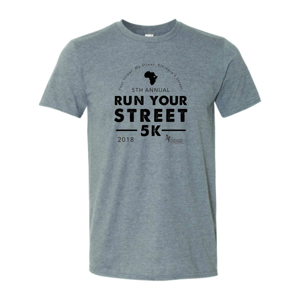 5K Race Tshirt, included in $35 Registration