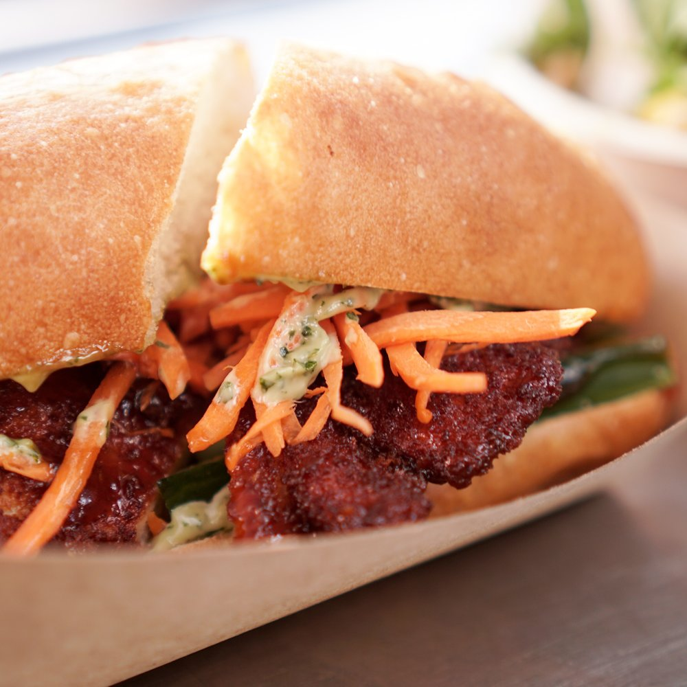 Fried Chicken Banh Mi