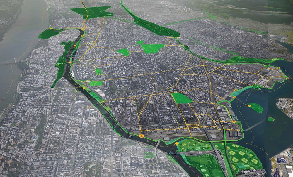 HARLEM RIVER GREENWAY VISUALIZATION
