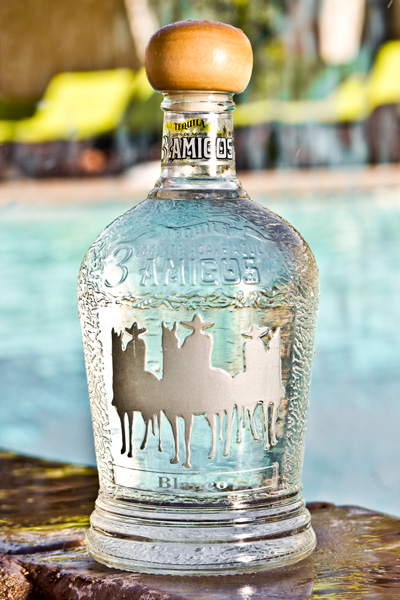 Clear and medium bodied tequila made from 100% ripe Blue Agave Weber.