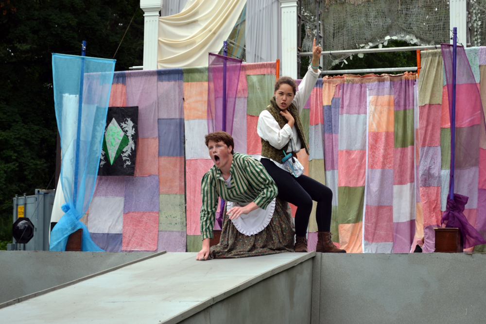 Young Professional Company Members performing  Twelfth Night  (2017)
