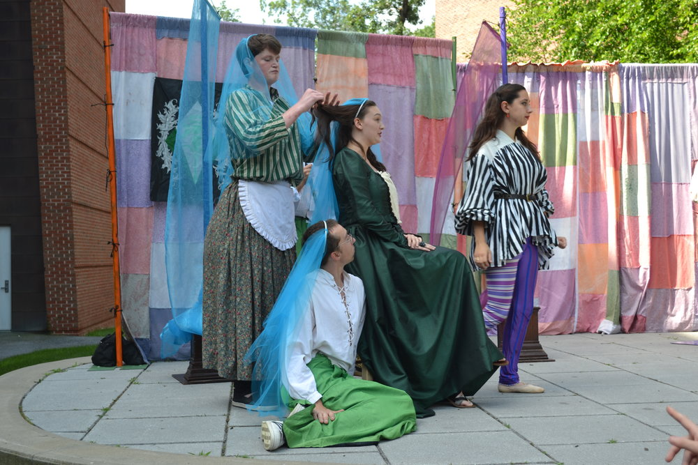 Our 2017 Shakespeare For All Touring Production of  Twelfth Night.