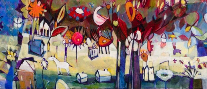 Encaustic by Stephanie Hargrave