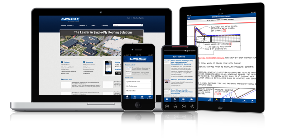 Carlisle SynTec App for Mobile