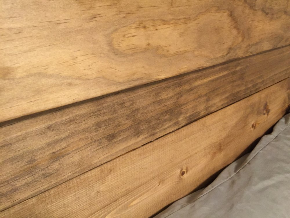 Love that wood grain!
