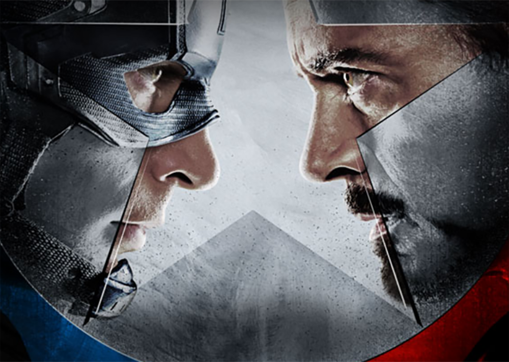 #2Captain America: Civil War - Captain America started off slowly with the First Avenger, but wow has that changed. From Chris Evans'first movie, he has continuously become my favorite Marvel character. While Winter Soldier is still at the top of my list, Civil War is in my top five Marvel movies to date.